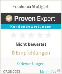Erfahrungen & Bewertungen zu Frankonia Stuttgart