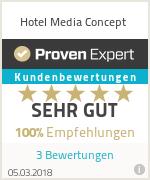 Erfahrungen & Bewertungen zu Hotel Media Concept