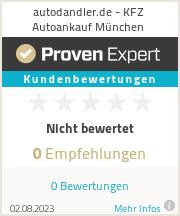 Erfahrungen & Bewertungen zu autodandler.de - KFZ Autoankauf München