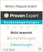 Erfahrungen & Bewertungen zu Reifen Palacek GmbH