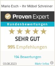 Erfahrungen & Bewertungen zu Mario Esch - Ihr Möbel Schreiner