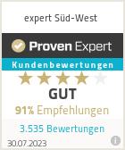 Erfahrungen & Bewertungen zu expert Süd-West