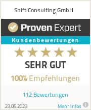 Erfahrungen & Bewertungen zu Shift Consulting AG