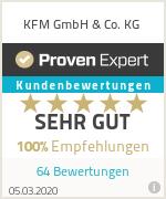Erfahrungen & Bewertungen zu KFM GmbH & Co. KG