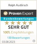 Erfahrungen & Bewertungen zu Ralph Audörsch