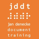 jddt ⠼⠾⠾⠗ jan denecke document training