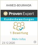 Erfahrungen & Bewertungen zu AHMED-BOURAADA