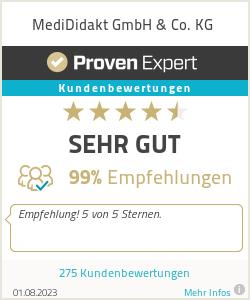 Erfahrungen & Bewertungen zu MediDidakt GmbH & Co. KG