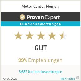 Erfahrungen & Bewertungen zu Motor Center Heinen