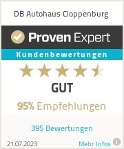 Erfahrungen & Bewertungen zu DB Autohaus Cloppenburg