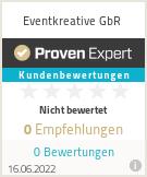 Erfahrungen & Bewertungen zu Eventkreative GbR