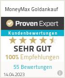 Erfahrungen & Bewertungen zu MoneyMax Goldankauf Expert