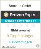 Erfahrungen & Bewertungen zu Brunolie GmbH