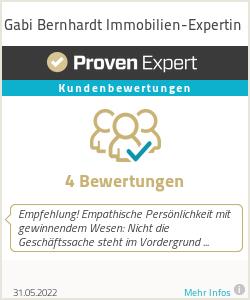 Erfahrungen & Bewertungen zu Gabi Bernhardt Immobilien-Expertin