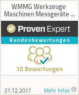Erfahrungen & Bewertungen zu WMMG Werkzeuge Maschinen Messgeräte GmbH