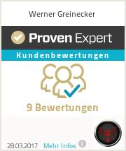 Erfahrungen & Bewertungen zu Werner Greinecker