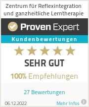Erfahrungen & Bewertungen zu Zentrum für Reflexintegration