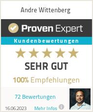 Erfahrungen & Bewertungen zu Andre Wittenberg