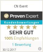 Erfahrungen & Bewertungen zu CN Event