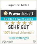 Erfahrungen & Bewertungen zu SugarPool GmbH