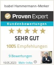 Erfahrungen & Bewertungen zu Isabel Hammermann-Merker