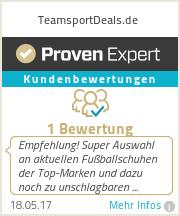 Erfahrungen & Bewertungen zu TeamsportDeals.de