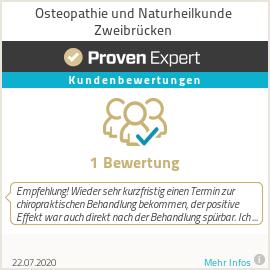 Erfahrungen & Bewertungen zu Osteopathie und Naturheilkunde Zweibrücken