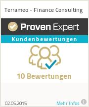 Erfahrungen & Bewertungen zu Terrameo - Finance Consulting