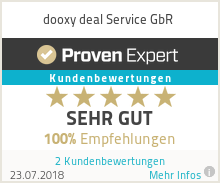 Erfahrungen & Bewertungen zu dooxy deal Service GbR