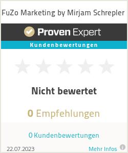 Erfahrungen & Bewertungen zu FuZo Marketing by Mirjam Schrepler