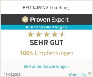 Erfahrungen & Bewertungen zu BEITRAINING Lüneburg