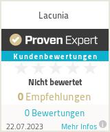 Erfahrungen & Bewertungen zu Lacunia