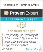 Erfahrungen & Bewertungen zu Esoterika.ch - Brain24 GmbH
