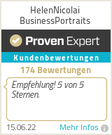 Erfahrungen & Bewertungen zu HelenNicolai BusinessPortraits