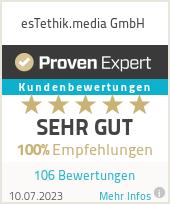 Erfahrungen & Bewertungen zu esTethik.media GmbH
