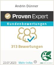 Erfahrungen & Bewertungen zu Andrin Dünner