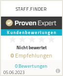 Erfahrungen & Bewertungen zu STAFF.FINDER