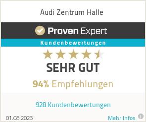 Erfahrungen & Bewertungen zu Audi Zentrum Halle