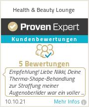 Erfahrungen & Bewertungen zu Health & Beauty Lounge