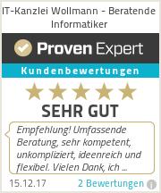 Erfahrungen & Bewertungen zur IT-Kanzlei Wollmann
