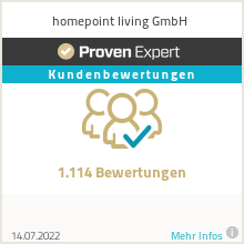 Erfahrungen & Bewertungen zu homepoint living GmbH