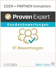 Erfahrungen & Bewertungen zu EDER + PARTNER Immobilien