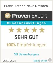 Erfahrungen & Bewertungen zu Praxis Kathrin Nake Dresden
