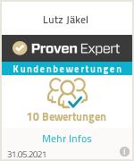 Erfahrungen & Bewertungen zu Lutz Jäkel