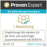 Erfahrungen & Bewertungen zu ARENTA Personaldienstleistungen GmbH