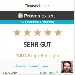 Erfahrungen & Bewertungen zu Thomas Huber