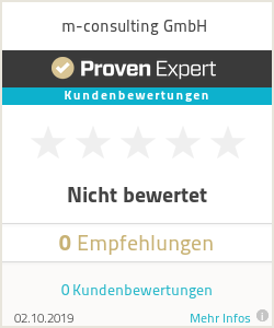 Erfahrungen & Bewertungen zu m-consulting GmbH