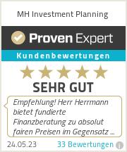 Erfahrungen & Bewertungen zu MH Investment Planning