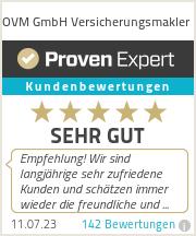 Erfahrungen & Bewertungen zu OVM GmbH Versicherungsmakler