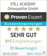 Erfahrungen & Bewertungen zu STILL ACADEMY Osteopathie GmbH